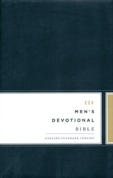 ESV Men's Devotional Bible , hardcover - Imperfectly Imprinted Bibles