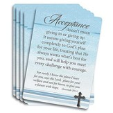Acceptance Prayer Cards, Pack of 25