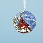 Merry Christmas, Cardinal Ornament