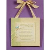 Sleepytime Prayer Plaque