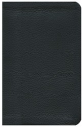 NKJV Jesus Calling Devotional Bible, Genuine Leather, Black