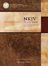 NKJV Study Bible, Second Edition, Hardcover - Slightly Imperfect
