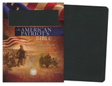 The KJV American Patriot's Bible, Bonded leather, black