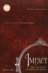 The NKJV Impact Student Leadership Bible Hardcover: Influence Your World - Slightly Imperfect