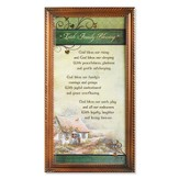 Irish Family Blessing Framed Print