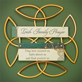 Irish Family Prayer Wall Plaque