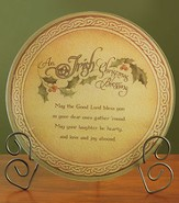 Irish Christmas Blessing Cutting Board