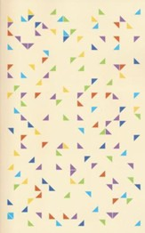 ESV Student Bible, Softcover, Triangles Design