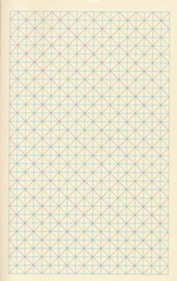 ESV Student Bible, Softcover, Grid Design