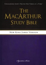 NKJV MacArthur Study Bible, Revised & Updated Edition - Slightly Imperfect