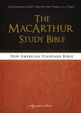 NASB MacArthur Study Bible, Hardcover  - Slightly Imperfect