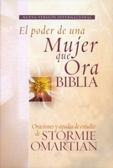 Biblia el Poder de Una Mujer Que Ora NVI, Enc. Rústica  (The Power of a Praying Woman NIV Bible, Softcover)