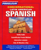 Conversational Latin American Spanish, 16 Lessons, 8 CDS - Slightly Imperfect
