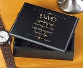 Dad a Guiding Light Trinket Box