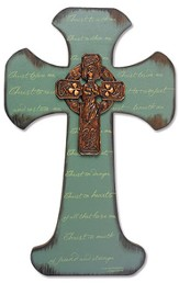 Saint Patrick Irish Wall Cross