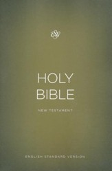 ESV Outreach New Testament, Softcover, Gold
