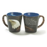 Eagle, Those Who Hope In the Lord Mug