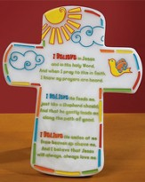 First Communion Cross Plaque