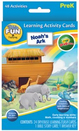 Noah's Ark Dry Erase Flash Cards