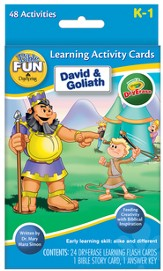 David and Goliath Dry Erase Flash Cards