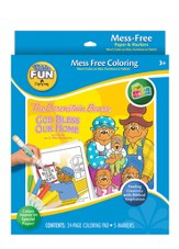 Berenstain Bears, God Bless Our Home, Color Wonder