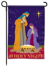 O Holy Night, Nativity Flag, Small