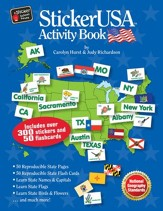 StickerUSA Activity Book