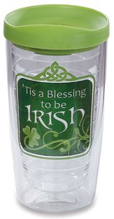 Tis A Blessing to be Irish Tumbler