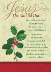 Jesus, the Faithful One Cards, Box of 18