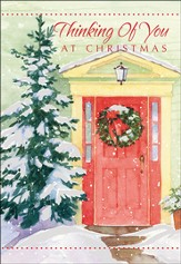 Thinking of You At Christmas Cards, Box of 18
