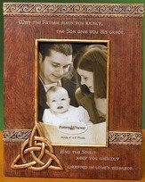 May the Father Bless You, Trinity Photo Frame
