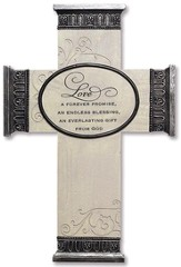 Love, Everlasting Promise Wall Cross