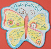 God's Butterfly Plaque