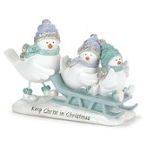 Keep Christ in Christmas, Bird Figurine