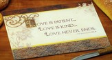 Love Is Patient, Cutting Board