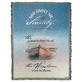 Serenity Prayer Throw