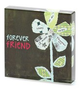 Forever Friend Glass Block