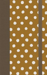 ESV Thinline Bible (Cloth over Board, Polka Dots)