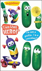 Veggie Tales Removable Wall Stickers, Larry the Cucumber