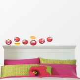 Veggie Tales Removable Wall Stickers, Bob the Tomato