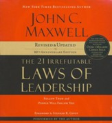 21 Irrefutable Laws of Leadership, The: Follow Them and People Will Follow You --abridged audiobook on MP3