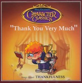 Thank You Very Much - Songs About Thankfulness Audio CD