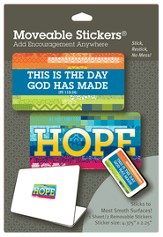 Hope Moveable Stickers, Pack of 2