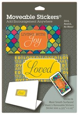 Loved Moveable Stickers, Pack of 2