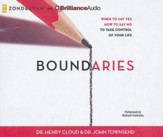 Boundaries: When to Say Yes, How to Say No, to Take Control of Your Life - unabridged audiobook on CD