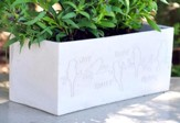 Eternal Garden Joy, Trust, Hope, Peace Planter