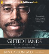 Gifted Hands: The Ben Carson Story - unabridged audiobook on CD