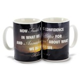 Hebrews 11:1 Mug