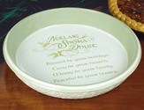 Gaelic Greetings Baking Dish