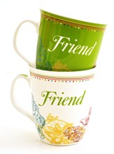 Friends Are Angels, Gift Mugs, Set of 2